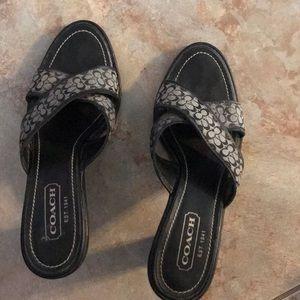 Coach shoes size 6.5 B